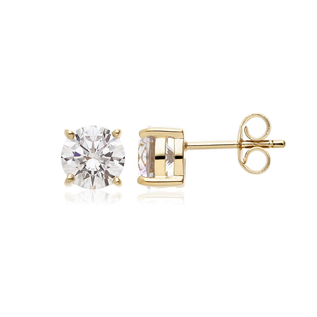 1.5ct Gold Solitaire Studs